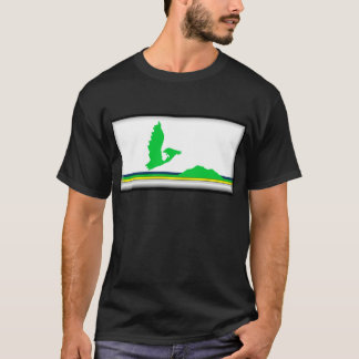 Die Kap-Breton-Insel (Kanada Neuschottland) Flagge T-Shirt