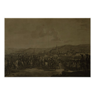 Die Kapitulation von Ulm im Oktober 1805 Poster