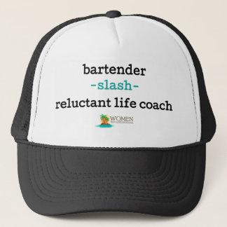 Die Kappe des Insel-Barkeepers (Schwarzes)