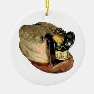 Die Kappe des Kohlen-Bergmannes Keramik Ornament