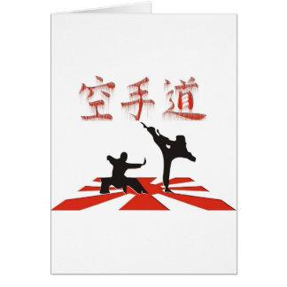 Die Karate-Perspektive Karte