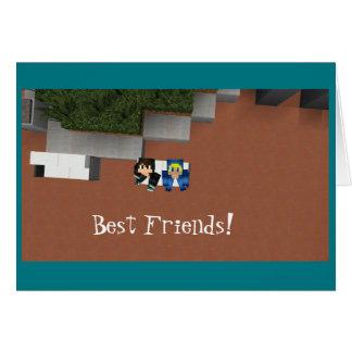 Die Karte der besten Freund-DKR1 und Messy115