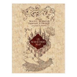 Die Karte Plünderers des Harry Potter-Bann-|