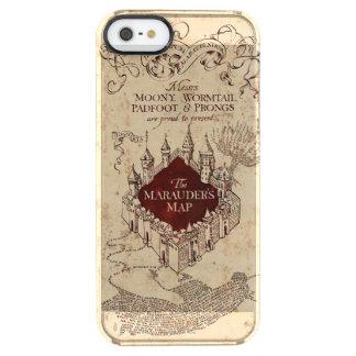 Die Karte Plünderers des Harry Potter-Bann-| Durchsichtige iPhone SE/5/5s Hülle