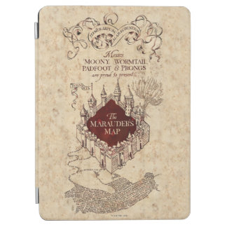 Die Karte Plünderers des Harry Potter-Bann-| iPad Air Hülle