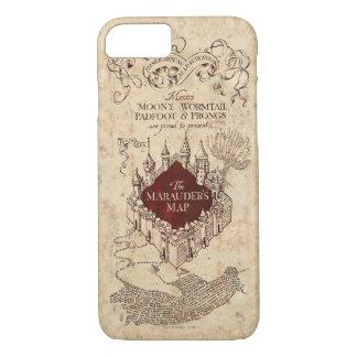Die Karte Plünderers des Harry Potter-Bann-| iPhone 8/7 Hülle