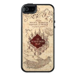 Die Karte Plünderers des Harry Potter-Bann-| OtterBox iPhone 5/5s/SE Hülle