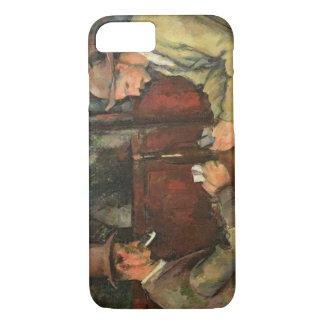 Die Kartenspieler, 1893-96 iPhone 8/7 Hülle