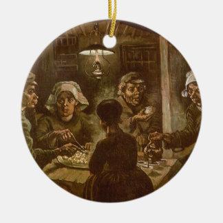 Die Kartoffel-Esser durch Vincent van Gogh Keramik Ornament