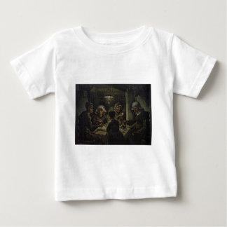 Die Kartoffel-Esser - Vincent van Gogh (1885) Baby T-shirt