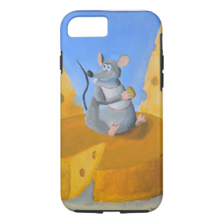 Die Käse-Ratte iPhone 8/7 Hülle