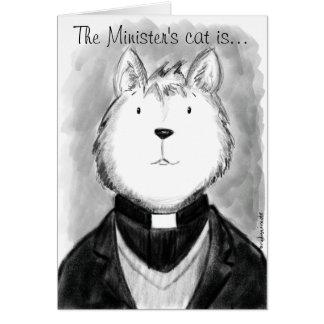 Die Katze des Ministers ist… Karte