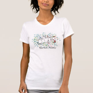 Die Katzen-Familie T-Shirt