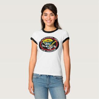 Die Katzen-Flecken Bella Wecker-T - Shirt der