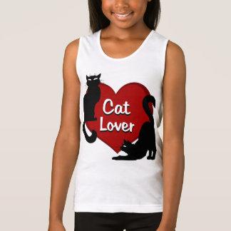 Die Katzen-Liebhaber-Behälter-Top- Tank Top