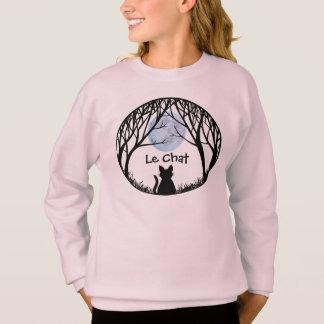 Die Katzen-Liebhaber-Shirt-des fettes Sweatshirt