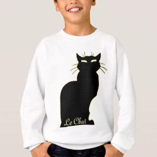 Die Katzen-Liebhaber-Shirt-Katzen-Kunst-des Kindes Sweatshirt