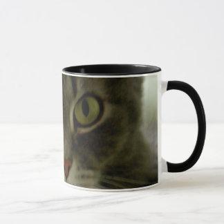 Die Katzenaugen-Aufpassen Tasse