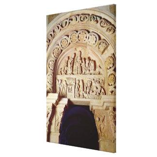 Die Kindheit von Christus, Tympanum des rechten Galerie Faltleinwand