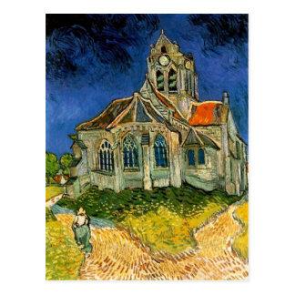 Die Kirche bei Auvers durch Vincent van Gogh Postkarte