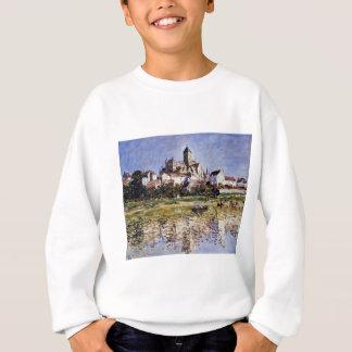 Die Kirche bei Vetheuil durch Claude Monet Sweatshirt