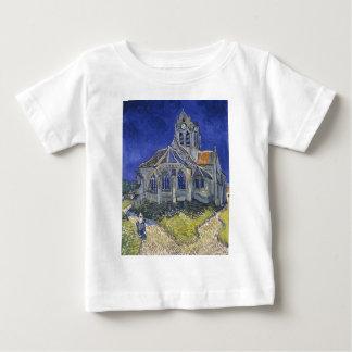 Die Kirche in Auvers durch Vincent van Gogh Baby T-shirt