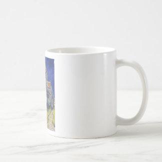 Die Kirche in Auvers durch Vincent van Gogh Kaffeetasse