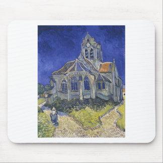 Die Kirche in Auvers durch Vincent van Gogh Mousepad