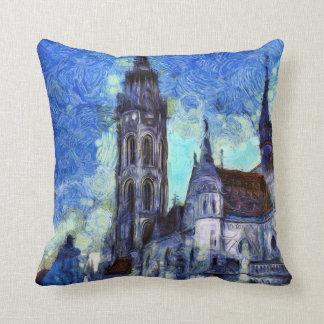Die Kirche Vincent van Gogh Kissen