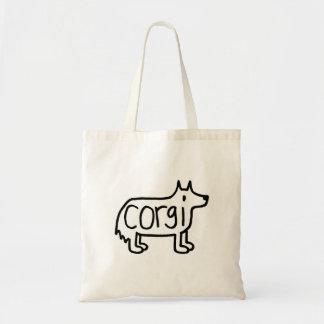 die klassische Corgi-Tasche Tragetasche