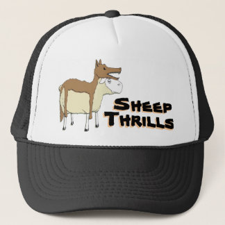 Die Kleidungs-Hut des Wolfs Truckerkappe