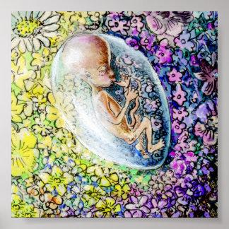 Die kleine Blume - Detail Poster