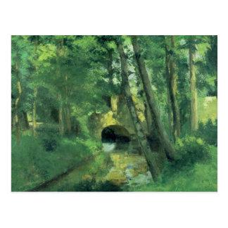 Die kleine Brücke, Pontoise, 1875 Postkarte