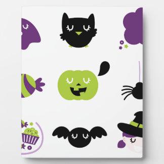 Die kleine Halloween-Ausgabe Fotoplatte
