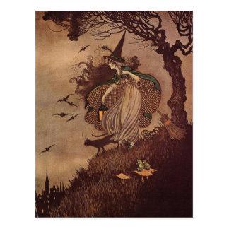 Die kleine Hexe Postkarte