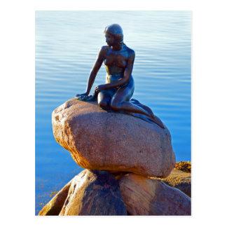 Die kleine Meerjungfrau in Kopenhagen, Dänemark Postkarte