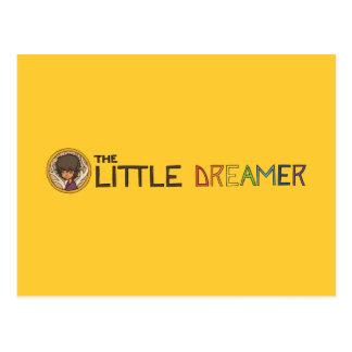 Die kleine Träumer-Linie Logo mit Zayoni Postkarte