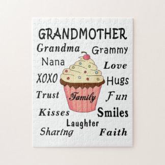 Die kleinen Kuchen der Großmutter für Großmütter Puzzle