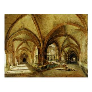 Die Klöster von St. Wandrille, c.1825-30 Postkarten