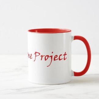 Die Klotz-Zuhause-Projekt-Kaffee-Tasse Tasse