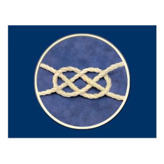 Die Knoten der Matrosen Postkarte
