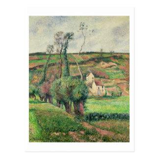 Die Kohl-Steigungen, Pontoise, 1882 Postkarte