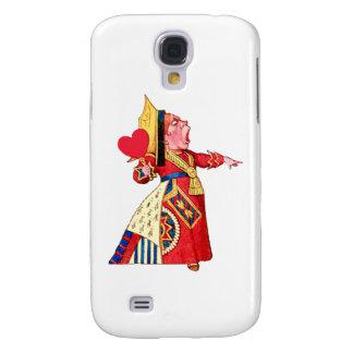 """Die Königin der Herz-Rufe, """"weg mit ihrem Kopf! """" Galaxy S4 Hülle"""
