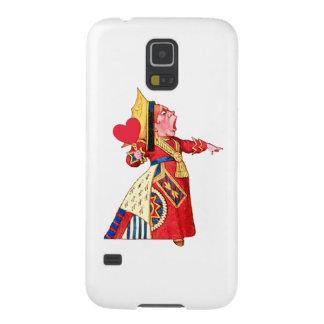 """Die Königin der Herz-Rufe, """"weg mit ihrem Kopf! """" Samsung S5 Hülle"""