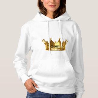 Die Königin-grundlegendes mit Kapuze Sweatshirt