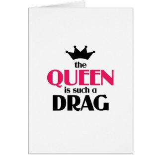 Die Königin ist solch ein Widerstand Karte