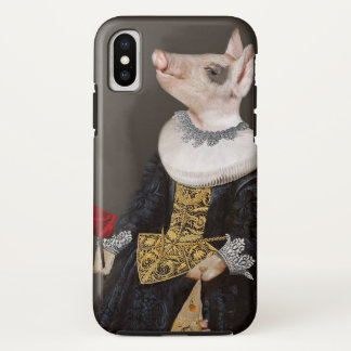 Die Königin von Bling - Ferkel iphoneX Fall iPhone X Hülle