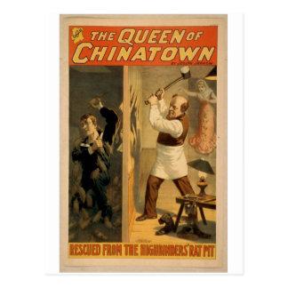 Die Königin von Chinatown Postkarte