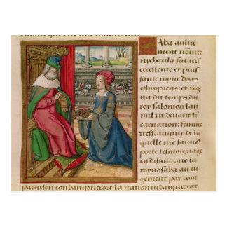 Die Königin von Sheba Postkarte