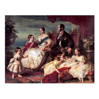 Die Königsfamilie Postkarte